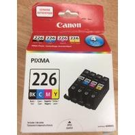 Canon 4530b008 Ink Cartridge - Black & Tri-Color Cli-226 Bk/ Cli-226