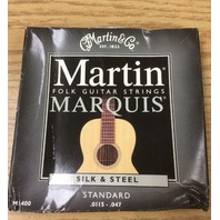 Martin M1400 Marquis Silk & Steel Acoustic Strings Multi-Colored