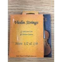 Hola! HVS-2 High Grade Violin Strings for 1/2 and 1/4 Violins