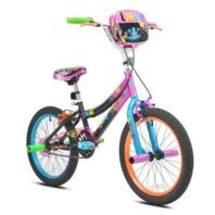 """Little Miss Matched 18"""" Girls Steel Bike Multi (READ)"""