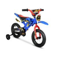 Hyper Bicycles  12 Inch Hot Wheels With Training Wheels, Boys, Blue