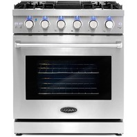 Cosmo Slide-In Freestanding Gas Range With 5 Sealed Burners (READ)