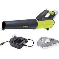 Sun Joe 24-Volt  Leaf Blower, Kit (W/2.0-Ah Battery   Quick Charger)