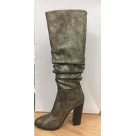 Katy Perry Women's The Oneil Knee High Boot, Gunmetal, 5 M M Us