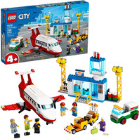 Lego City Central Airport 60261 Building Toy (286 Pieces)