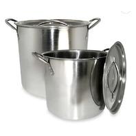 Alpine 2-Piece Stainless Steel Stock Pots