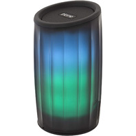 iHome - PlayGlow - Color Changing Portable Bluetooth Speaker - Black