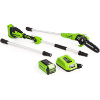 Greenworks 40v 8-Inch Cordless Polesaw, 2.0ah Battery And Charger Included