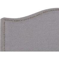 Flash Furniture Lexington Upholstered Twin Headboard - Light Gray Fabric