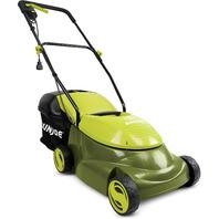 Sun Joe MJ401E 14 Inch 12 Amp Home Electric Corded Push Behind Lawn Mower, Green