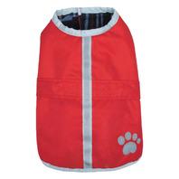 Zack & Zoey Nor'easter Blanket Coat, Large, Red