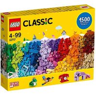 Lego Classic 10717 Bricks Bricks Bricks 1500 Piece Set