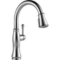Delta Faucet Cassidy Single-Handle Kitchen Sink Faucet Lumicoat Chrome