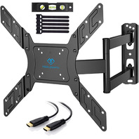 Perlesmith Tv Wall Mount For 23 - 55 Inch Tmed. full motion