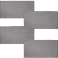 Sunnydaze 10-Foot X 13-Foot 4-Piece Polyester Sidewall Set for a Gazebo
