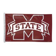 3 x 5 ft. Mississippi State University, Bulldogs Flag,