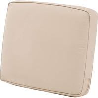 "Montlake Water-Resistant 23 X 20 X 4"" Patio Lounge Back Cushion, Antique Beige"