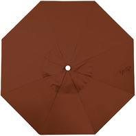 California Umbrella Canopy Replacement Cover, 7.5-Foot, Brick