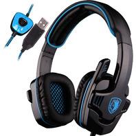 SADES Gaming Headset SNUK Black-Blue