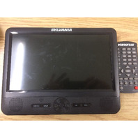 """Single SYLVANIA 7""""  Portable DVD Player"""