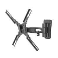 """Dynex™ - Swivel TV Wall Mount for Most 13"""" - 32"""" TVs - Extends 7.5"""" - Black"""