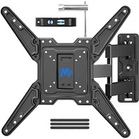 TV Wall Mount Bracket with Full Motion Articulating Arm