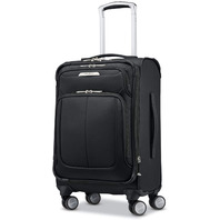 """Samsonite - SoLyte DLX 19"""" Expandable Spinner Suitcase - Midnight Black"""