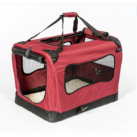 2pet Foldable Dog Easy To Fold & Carry Dog Crate Indoor & Outdoor (READ)