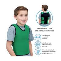 "Pressure vest green Medium 20""x 30"""