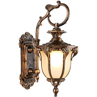 LONEDRUID Led Outdoor Wall Light Fixtures Bronze 21.26'H (One Only)