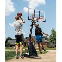 Spalding 54 Inch Acrylic Hybrid Basketball System
