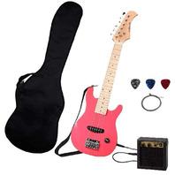 Stedman Kid Series Electric Guitar -Pink