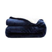 """IANLAM King Size Sherpa Fleece Blanket King(104""""x90"""")"""
