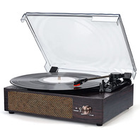 Record Player Turntable  Built in Stereo Speakers