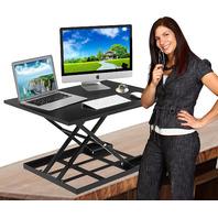 "Defy Pro 32"" - Height Adjustable Standing Desk Converter"