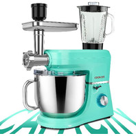 COOKLEE 6-IN-1 Stand Mixer, 8.5 Qt. Mojito Blue