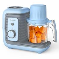 Elechomes Baby food processor blue