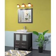 Vanity Art 30 inch Single Sink Bathroom Vanity. Sink, Tap and Mirror Not Included.