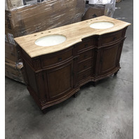 Double Sink Bathroom Vanity READ