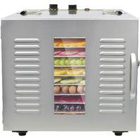 NJTFHU 10-Trays Commercial Food Dehydrator 1000W