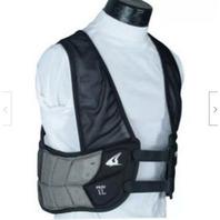 Champro Adult Air Tech 3 Rib Vest (Black, Xx-Large)