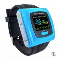 ToronTek B400 wristband oximeter recording and alarm feature