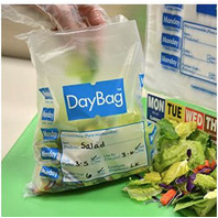 """DayMark 113017 5-1/2"""" Day of the Week """"Friday"""" Portion Bag - 2000 / BX"""