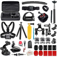 50-in-1 Outdoor Sports Camera Accessories Kit