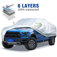 ELUTO Heavy Duty 6 Layers Truck Cover for Truck Up to 244''