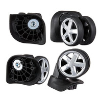 Hardshell spinner luggage replacement wheels