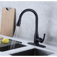 Touchless Motion Sense Kitchen Sink Faucet with Pull Down Sprayer
