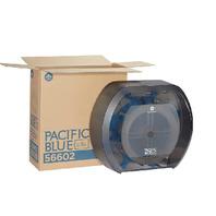PACIFIC BLUE ULTRA 56602 Toilet Paper Dispenser,Capacity 4 Rolls G8093806