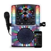 Singing Machine SML625BTBK Bluetooth CD G Karaoke System