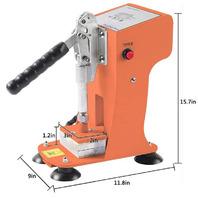 Heat press machine HP230C-X - Orange